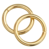 Jump Ring 20mm - Thick 2.6mm Gold